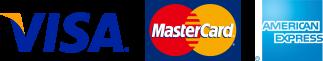 VISA,Master Card,American Express